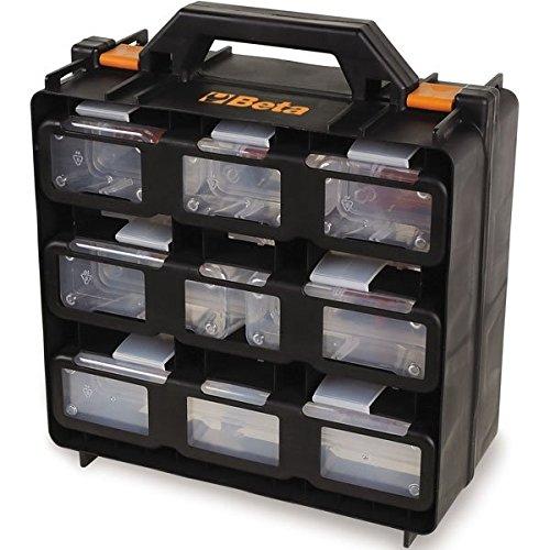 Valigia organizer Beta 2080 /V12 vuota, con 12 vaschette asportabili portaminuterie universale