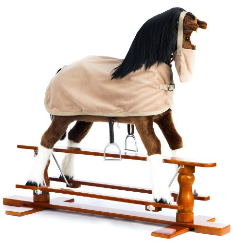 The 1 for U Rocking Horse Champion with Blanket  &  Nose Bag - chbe