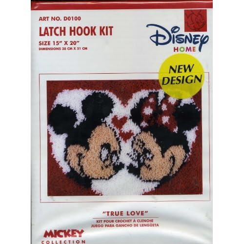 Amazon.com: Disney Latch Hook Kit - Mickey & Minnie Mouse