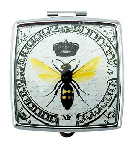 Imperial French Honey Bee Pill Box 2 Square