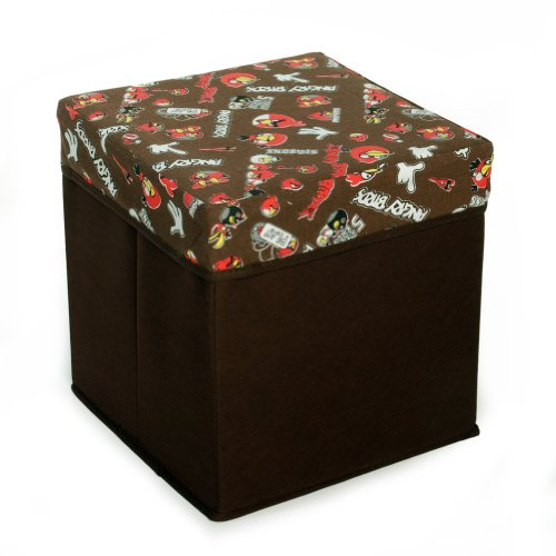 [Angry Birds - Brown] Square Foldable Storage Ottoman / Storage Boxes / Storage Seat