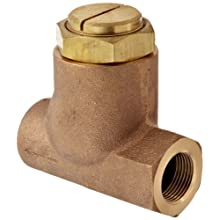 "Parker 032500519 3250 Series Brass Inline Flow Control Valve, 3/4"" NPTF, 250 psi, Standard Adjustment"
