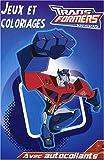 echange, troc Hemma - Transformers : Jeux et coloriages