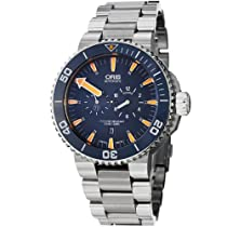 Oris Tubbataha Limited Edition Automatic Divers Titanium Mens Watch 749-7663-7185MB