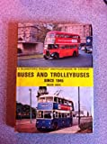 Pocket Encyclopaedia of Buses and Trolleybuses Since 1945 in Colour (0713704950) by Kaye, David