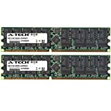 8GB KIT (2 x 4GB) for Tyan Tiger Series K8WE (S2877) K8WE (S2877ANRF). DIMM DDR ECC Registered PC3200 400MHz Single Rank RAM Memory. Genuine A-Tech Brand. (Tamaño: 8GB KIT (2 x 4GB) (400MHz) Single Rank)