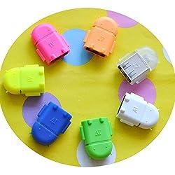 ApeCases MICRO USB OTG ADAPTER CABLE USB OTG CABLE USB OTG ADAPTER For Samsung,Intex,Lenovo,Nokia,MI,Micromax,Motorola,Asus,etc.......
