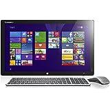 Lenovo HORIZON 2e 54,6 cm (21,5 Zoll) FHD LED All-in-One Desktop-PC (Intel Core i7-4510U, 3,1GHz, 8GB RAM, 1TB HDD, NVIDIA GeForce GT820A/1GB, NFC, Touchscreen, Win 8.1) schwarz