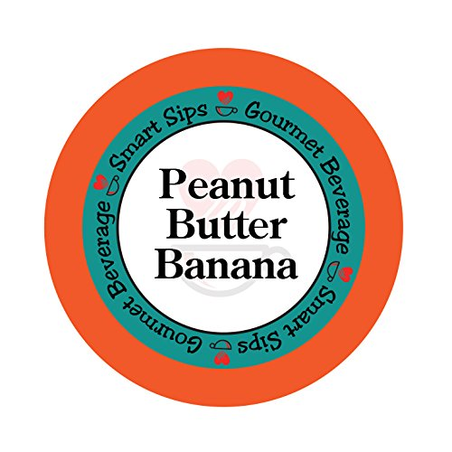 Smart Sips, Peanut Butter Banana Coffee, 24 Count, Compatible With All Keurig K-cup Brewers (Keurig Tim Hortons Hot Chocolate compare prices)