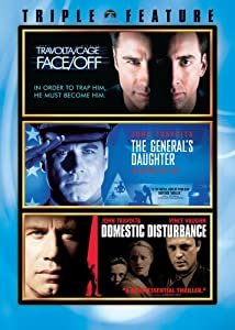John Travolta Triple Feature (Face/Off / The General's Daughter / Domestic Disturbance)