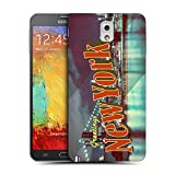 Head Case Designs Brooklyn Bridge New York USA Best of Places Vintage Postcards Replacement Battery Back Cover for Samsung Galaxy Note 3 N9000 N9002 N9005