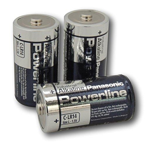 Panasonic Powerline 4-C LR14 MN1400 Industrial piles alcalines