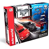 Auto World 16' Mustang 50th Anniversary Slot Car Race Set
