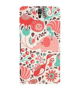 Wheels Duck 3D Hard Polycarbonate Designer Back Case Cover for Sony Xperia C5 Ultra Dual :: Sony Xperia C5 E5553 E5506 :: Sony Xperia C5 Ultra