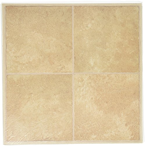 mintcraft cl3681 inlay vinyl floor tile beige hardware building materials flooring flooring. Black Bedroom Furniture Sets. Home Design Ideas