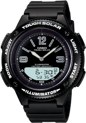Casio Women's LCF30-1B Tough Solar Ana-Digi Sport Watch