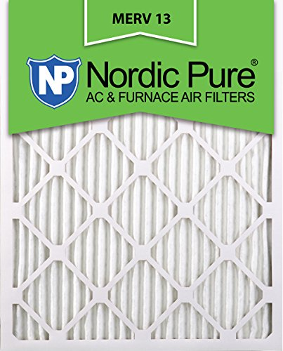 14x25x1 MERV 13 AC Furnace Filters Qty 3