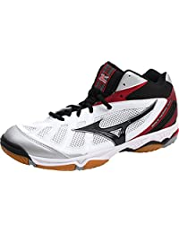 Mizuno Men's WAVE HURRICANE MID Volleyball Shoes