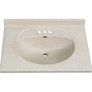 Imperial VB3122CAPSS Olympic Oval Bowl Bathroom Vanity Top ...