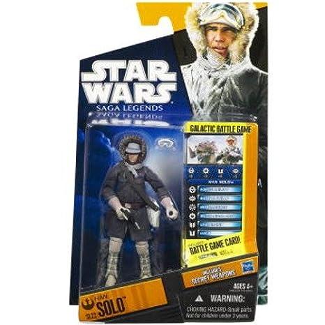 Hasbro – Star Wars – Saga Legends – SL 22 – Han Solo – Figurine 9,5 cm (Import Royaume Uni)