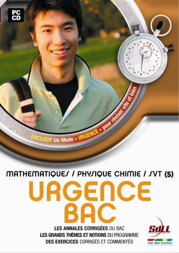 Urgence : Bac S physique chimie/Maths/SVT 2007.
