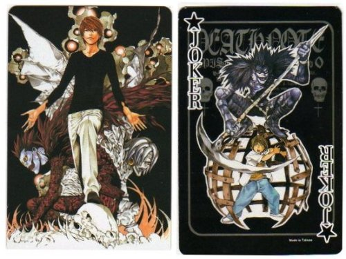 Death Note Playing Cards Poker Deck