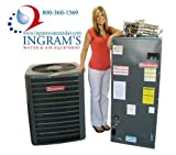 Goodman R410A 13 SEER Complete Split System AC Only 3 Ton GSX130361, ARUF363616, HKR-10