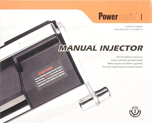powermatic i manual cigarette injector machine
