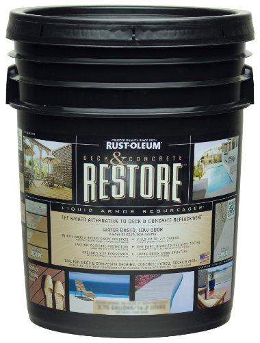 Rust-Oleum 49504 Deck and Concrete with Tint Base, 4-Gallon