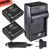 BM Premium 2-Pack of DMW-BLG10 Batteries and Battery Charger for Panasonic Lumix DMC-GX80, DMC-GX85, DMC-ZS60, DMC-ZS100, DMC-GF6, DMC-GX7K, DMC-LX100K Digital Camera
