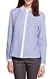 Pure Cotton Striped Shirt [T69-2712I-S]