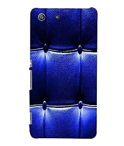 printtech Leather Pattern Back Case Cover for Sony Xperia M5 Dual E5633 E5643 E5663:: Sony Xperia M5 E5603 E5606 E5653