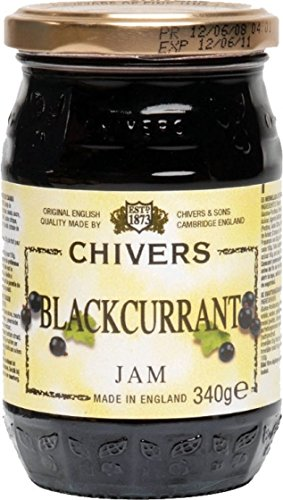 Chivers Blackcurrant Jam 340g (British Jelly compare prices)