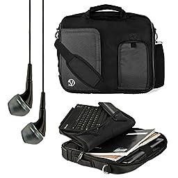 VanGoddy Pindar Messenger Carrying Bag for iRulu Walknbook / X1 Pro / X1s / X1a 9 to 10.1\