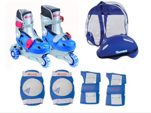 Chicago Boys Training Skate Combo, Size J10 - J13 (Chicago Roller Blades compare prices)