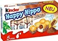 "Kinder ""Happy Hippo"" Cocoa Cream Biscuits : Pack of 5 Biscuits by Ferrero"