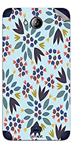 GsmKart MCP Mobile Skin for Micromax Canvas Play (Blue, Canvas Play-875)