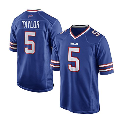 Buffalo Bills Tyrod Taylor #5 Royal Game Jersey