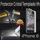 Protector cristal templado para IPHONE 6. film templado, vidrio templado ULTRA RESISTENTE y GRAN CALIDAD de AHORRATECH thumbnail