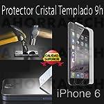 Protector cristal templado para IPHON...