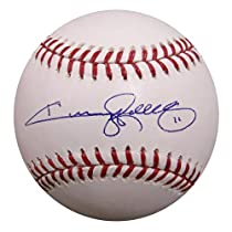 Autographed Jimmy Rollins MLB Baseball (MLB Authenticated)