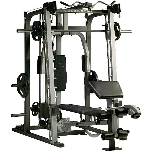 Home Exercise Equipment Price: Fitness GYM Equipment: Golds Gym Platinum Smith Machine