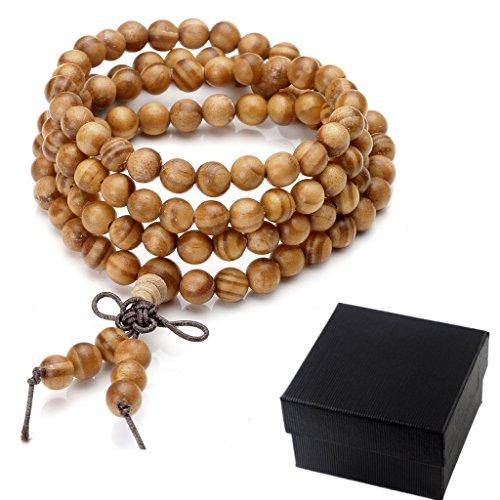 zysta-mens-women-8mm-6mm-natural-raja-kayu-wood-bracelet-link-wrist-necklace-chain-tibetan-buddhist-