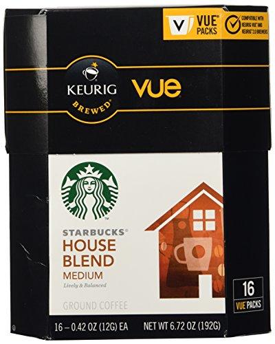 Starbucks House Blend Coffee Keurig Vue Portion Pack, 32 Count (Keurig Lock compare prices)