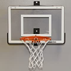 Wall Mounted Mini Basketball Hoop - Mini Pro 1.0 by JustInTymeSports