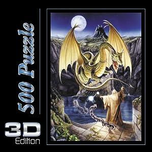 Spielspass Verlag 44304 - Befreiung Drachen 3D , 500 Teile