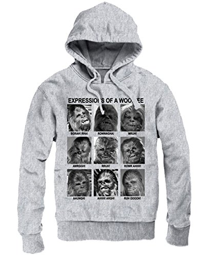 Star Wars -  Felpa con cappuccio  - Uomo grigio XX-Large