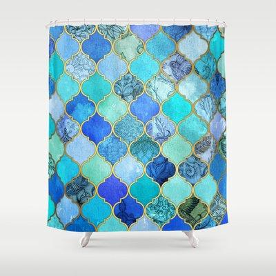 Sale On Cobalt Blue Shower Curtain Best For 2015 Flipboard