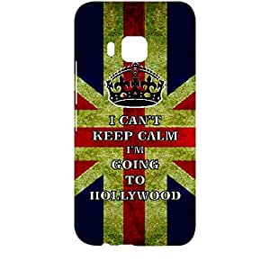 Skin4gadgets I CAN'T KEEP CALM I'm GOING TO HOLLYWOOD - Colour - UK Flag Phone Designer CASE for HTC ONE M9
