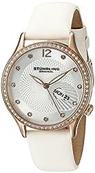 Stuhrling Original Women's 801.03 Analog Display Quartz White Watch